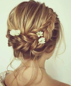 Messy Updo Bridal Hair