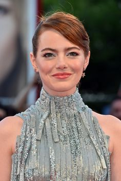Emma Stone at the opening ceremony during the 73rd Venice Film Festival on August 31, 2016 in Venice, Italy.