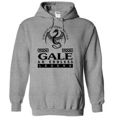 Gale - An Endless Legend - #mothers day gift #gift tags. BUY-TODAY => https://www.sunfrog.com/Names/Gale--An-Endless-Legend-xjtghasgoc-SportsGrey-35474809-Hoodie.html?68278