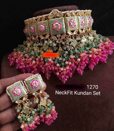 Antique Jewellery Designs, Fancy Jewellery, Stylish Jewelry, Luxury Jewelry, Diamond Jewellery, Indian Bridal Jewelry Sets, Indian Jewelry Earrings, Jewelry Design Earrings, Bridal Jewellery