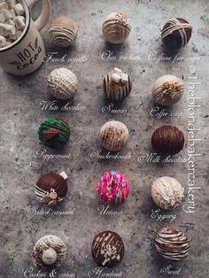 Hot Chocolate Gifts, Christmas Hot Chocolate, Hot Chocolate Bars, Hot Chocolate Recipes, Desserts To Make, Holiday Desserts, Holiday Baking, Christmas Baking, Christmas Treats