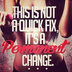 Make your change permanent!