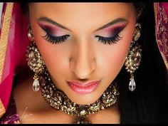 Indian Eye Makeup Tips Indian Bridal Makeup Step Step How To Do Indian Bridal. Indian Eye Makeup Tips How To Do Casual Makeup On Indian Skin 15 Steps With Pictures. Indian Eye Makeup Tips Top 10 Beautiful Wedding Makeup Looks… Continue Reading → Dramatic Bridal Makeup, Bridal Makeup Tips, Wedding Makeup Looks, Eye Makeup Tips, Hair Makeup, Bride Makeup, Makeup Eyes, Pink Makeup, Indian Eye Makeup