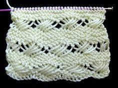 Stitch of the Week Waistcoat Stitch - Single Crochet Knit Stitch = Crochet Tutorial - Crochet Plarn Knitting Needle Sets, Knitting Videos, Arm Knitting, Crochet Videos, Knitting Stitches, Knitting Designs, Knitting Patterns Free, Stitch Patterns, Crochet Patterns