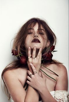 Meadowlark: New Collection, Ritual Teresa Oman, Meadowlark Jewellery, New Zealand Jewellery, Hippie Boho, Bohemian, Wine Lips, Dark Beauty, Character Inspiration, Halloween Face Makeup