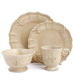 Artimino Fleur de Lis Cream Dinnerware | Dillards.com