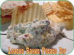 Life in Random Bits: Loaded Baked Potato Dip