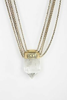 Spell & The Gypsy Collective Prism Bomb Crystal Necklace - sickest boho brand! Beads Jewelry, Jewelery, Brass Necklace, Crystal Necklace, Collars, Boho Accessories, Bohemian Necklace, Necklace Price, Gypsy