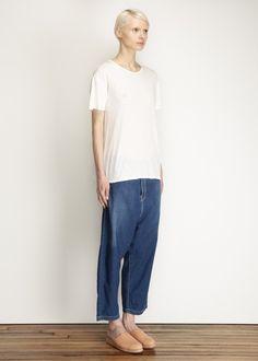 Y's by Yohji Yamamoto Harem Jeans (Indigo)
