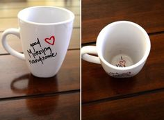 Good Morning Handsome Coffee Mug DIY