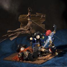 A l'abordage! Budkins pirates by Le Toy Van www.letoyvan.com Aurore Deligny