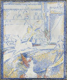 Georges Seurat, 1859-1891  Le Cirque  Year 1891