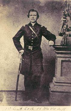 Lt. Nils J. Gilbert, 15th Wisconsin