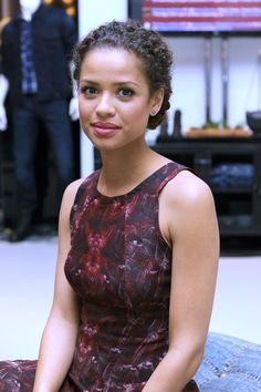 Gugu Mbatha-Raw at Guess Portrait Studio on Day 5 during the 2013 Toronto International Film Festival at Bell Lightbox on September 9, 2013 in Toronto, Canada.