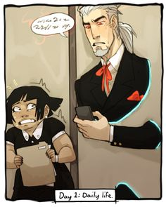 OC week: Day 1, Daily life Gillian's gonna have grey hair before she's 30 tbh at this rate, daily life as Vlad Master's intern ain't no game, you gotta pretend you ain't seeing shit and not lose your shit every time your boss does something not...