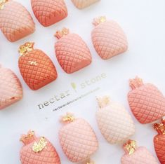 Pretty pineapple candy