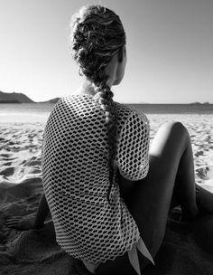 perfect beach french braid