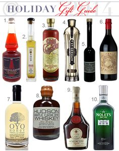 10 Bottles Of Liquor That Make Great Gifts — Holiday Gift Guide From