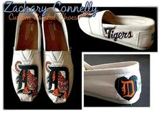 Hey, I found this really awesome Etsy listing at https://www.etsy.com/listing/176375015/detroit-tigers-toms-shoes
