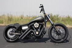 Sweet Harley Davidson Dyna.
