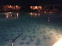 Amazing pool next to the restaurant in Zanzibar.