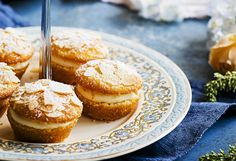 A great idea for Mother's Day, these lemon & almond biscuits are perfect for an at-home high tea or to give away as a pretty gift. They're simple to make, too!