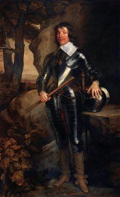 Sir Anthony Van Dyke, Sir James Hamilton, 1st Duke of Hamilton (1606-1649), 1630s, Oil on canvas, Liechtenstein Museum, Vienna.