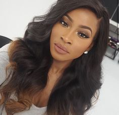 Brazilian Hair Weave Bundles with Closure Human Hair Natural Color Brazilian Body Wave Non-Remy Hair Extension Scene Hair, Pretty Hairstyles, Wig Hairstyles, Fashion Hairstyles, Sew In Weave Hairstyles, Makeup Black, Curly Hair Styles, Natural Hair Styles, Pelo Natural