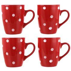 ASDA Ladybird Stoneware - 4 Piece Mug Set | Cups & Mugs | ASDA direct