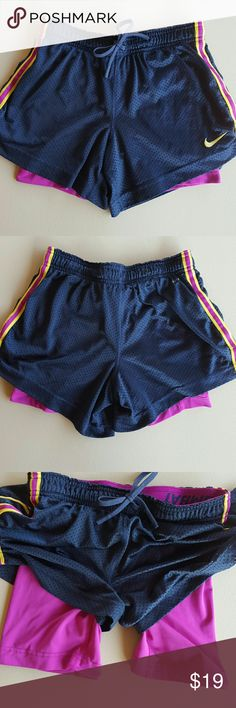 Nike Pro Combat Shorts Nike Dri-Fit  Excellent Condition  Built in compression Shorts  No trades  No modeling Nike Shorts