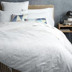 Roar + Rabbit Graphic Texture Quilt Cover + Pillowcases