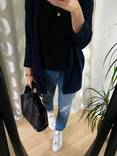 Girlfriend Jeans Outfit - Sommer Capsule Wardrobe