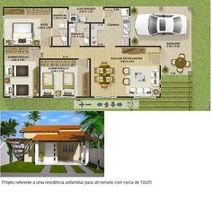 Projeto - Planta Casa Térrea 03