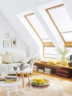 11 Einrichtungstipps für das Wohnen unterm Dach