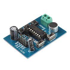마이크+음성+녹음+재생+모듈+내장+DIY+ISD1820+(Arduino를위한)+–+KRW+₩+7,458