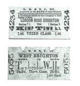 Train Tickets, 1880