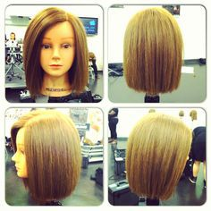 Above the shoulders one length square cut