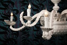YES.    Adam Wallacavage octopus chandelier.