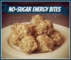 Sugar-free energy bites.