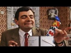 What can you infer from Mr. Bean - Explosive Paint video?
