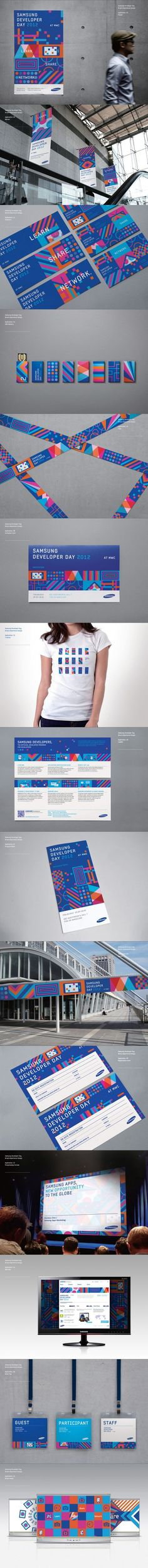 Samsung Developers Branding on Behance | Fivestar Branding #graphic #design #brand #identity