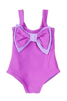 Planet Sea | Bow One Piece (Baby Girls) | Nordstrom Rack