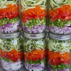 Omelet PREP-Ahead Jars http://cleanfoodcrush.com/omelet-prep-ahead-jars/ 