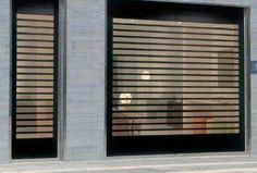 Tipos de persianas y puertas enrollables.