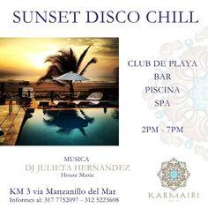 Sábado 16 de marzo de 2 a 7 pm con DJ Julieta Hernandez ¿Que tal el plan?