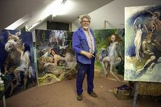 When an Oscar-winning documentary maker met Rolf Harris at a party, he never expected the populist painter would be the focus of his next film. That was, until Rolf shared his 'racy' secret. Emer Kenny, Rolf Harris, Lily Cole, Next Film, Midsummer Nights Dream, Drawing S, Line Art, Childhood Memories, Scene