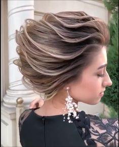Ідеї зачісок Makeup Hacks makeup hacks for 11 year olds Braided Hairstyles, Wedding Hairstyles, Cool Hairstyles, Vintage Hairstyles Tutorial, Hair Upstyles, Hair Videos, Bridal Hair, Hair Inspiration, Short Hair Styles