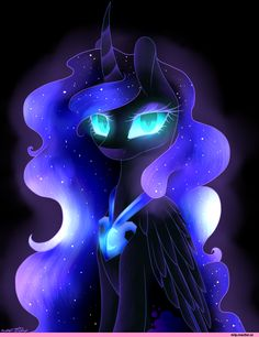 my little pony,Мой маленький пони,фэндомы,Nightmare Moon,minor,mlp art,PureDiamond360