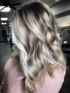 High contrast High Contrast, Blonde Balayage, Long Hair Styles, Beauty, Long Hairstyle, Long Haircuts, Long Hair Cuts, Beauty Illustration, Long Hairstyles