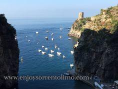 Praiano / Amalfi Coast  For Amalfi Coast Private Day Tour and Private Transfer visit Website www.enjoysorrentolimo.com